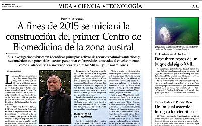 """""""El Mercurio"""" destaca pronto inicio de construcción del Cebima"""