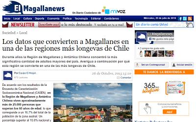 Los indicadores que convierten a Magallanes en una de las regiones más longevas de Chile