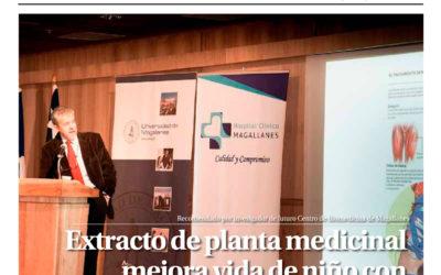 Periódico El Magallanes destaca investigación de E. Brandan