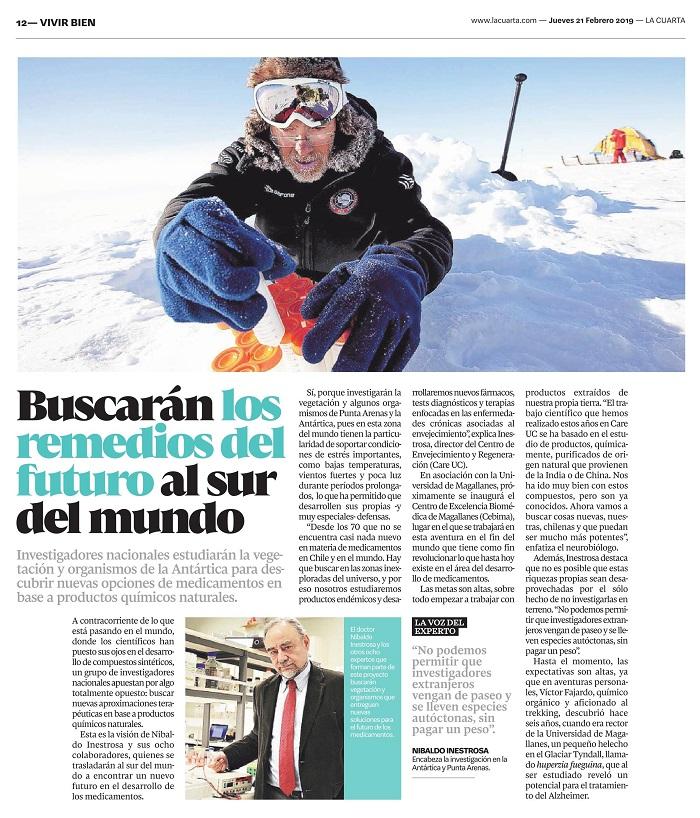 Investigaciones del CEBIMA son reconocidas en el diario La Cuarta ...