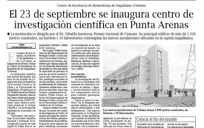 """""""El Pingüino"""" de Punta Arenas destaca la próxima inauguración del CEBIMA"""