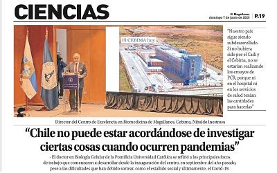 «Chile no puede estar acordándose de investigar solo cuando ocurren pandemias»