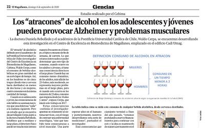 """Los """"atracones"""" de alcohol en adolescentes y jóvenes pueden provocar Alzheimer"""