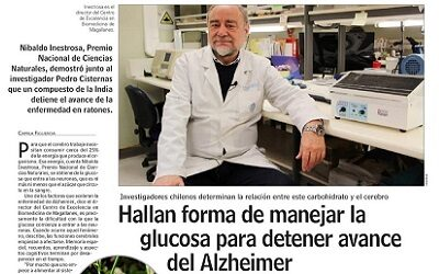 LUN destaca investigación de Dr. Nibaldo Inestrosa sobre glucosa y Alzheimer