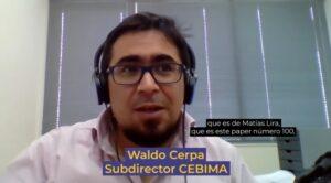 Waldo Cerpa, subdirector del CEBIMA