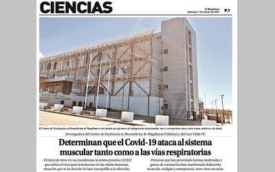 Medios de prensa destacan investigación de Dra. Daniela Rebolledo sobre Covid-19
