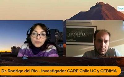 Medios de prensa destacan estudio de Dr. Rodrigo del Río sobre cerebro y corazón