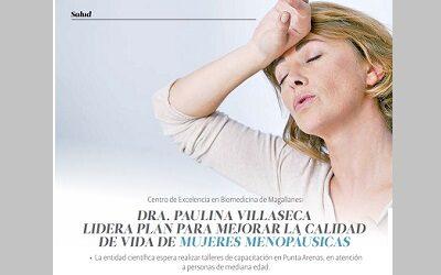 Revista Fem Patagonia destaca estudio de CEBIMA sobre mujeres y menopausia
