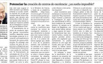 «Potenciar la creación de centros de excelencia: ¿un sueño imposible?», columna del Dr. Inestrosa en La Prensa Austral.